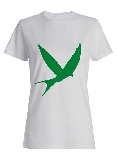 Yeşilay Işıl Reçber Tişört Beyaz